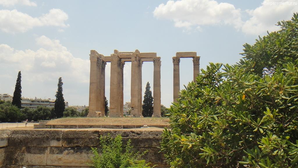 территория Храма Зевса, Афины