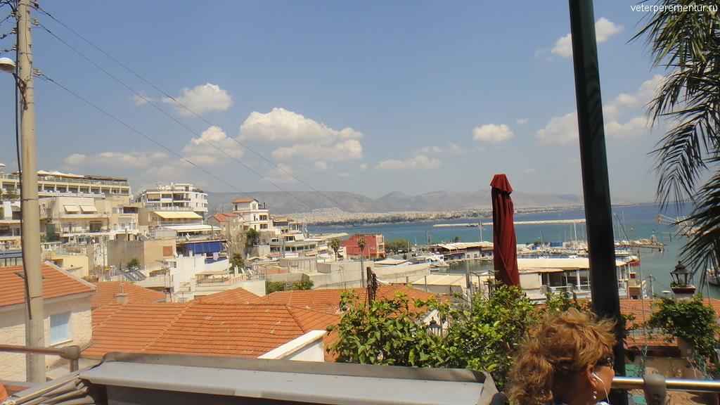 Виды по дороге из Афин в Пирей