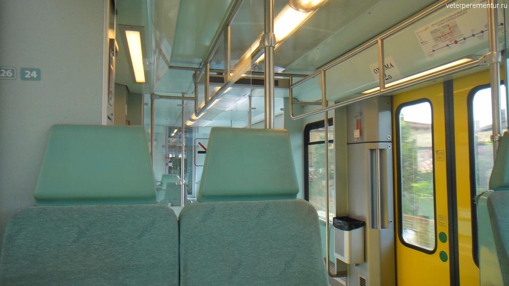 Поезд из Катаколона в Олимпию