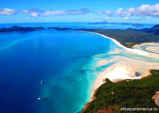 12 Уайтхэвен-Бич Остров Уитсандей, Острова Уитсанди
