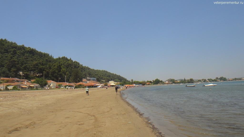 Пляж, Катаколон