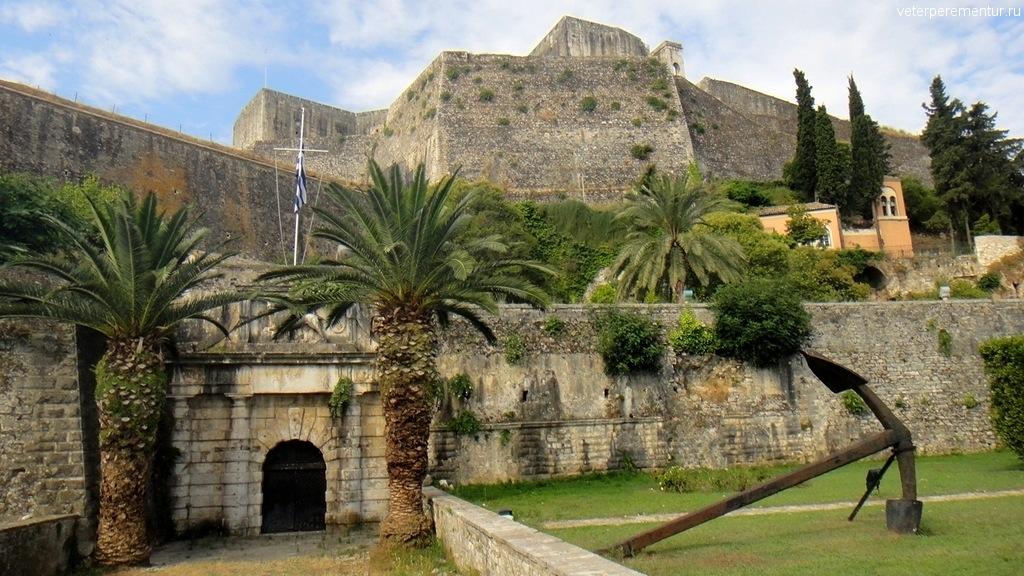 Крепость, Корфу