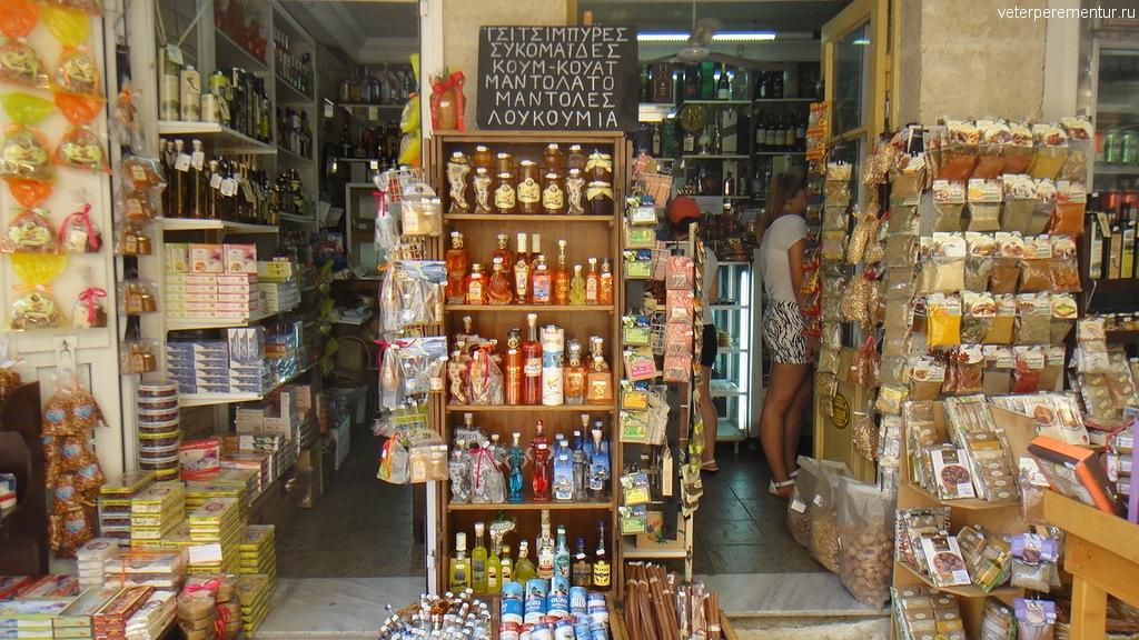 Магазины в Керкире