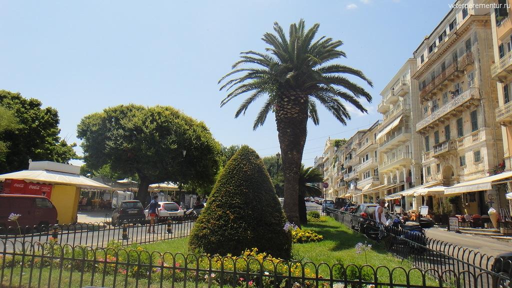 На улицах Керкиры, Корфу