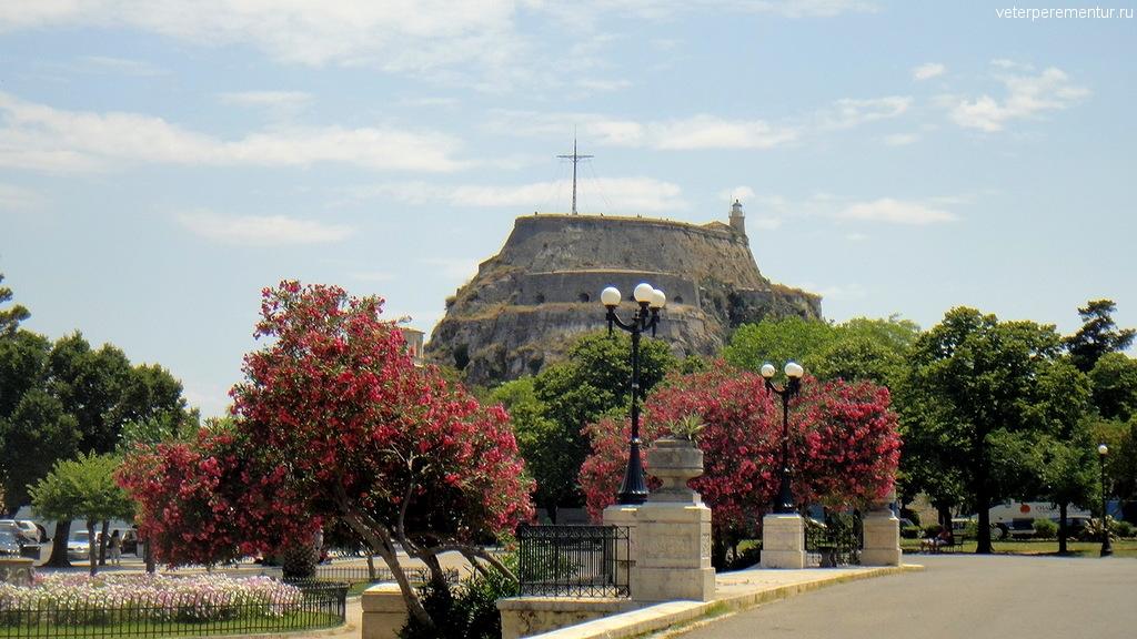 Крепость в Керкире, Корфу
