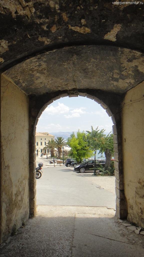 Вход на пляж, Керкира, Корфу
