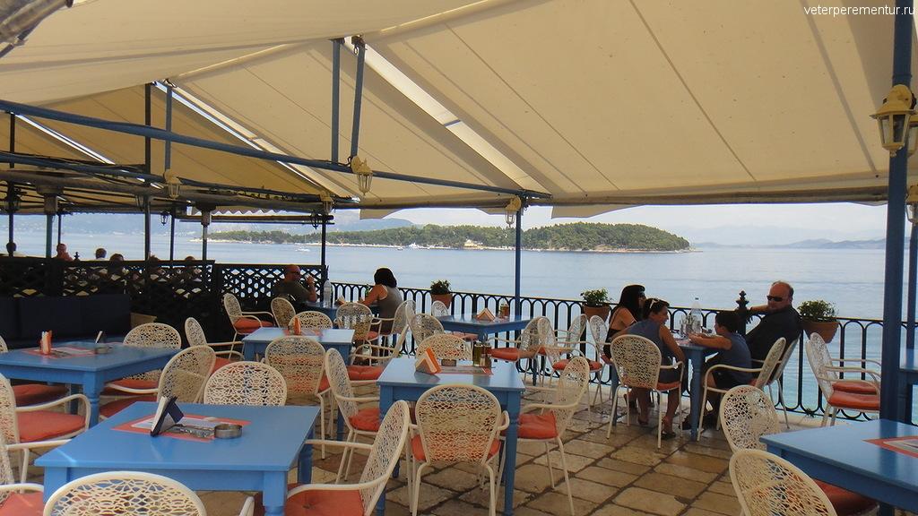 Ресторанчик у моря, Керкира, Корфу