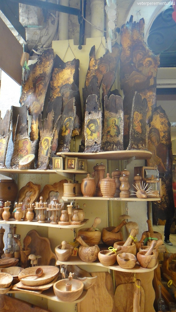 сувенирные лавки, Керкира, Корфу