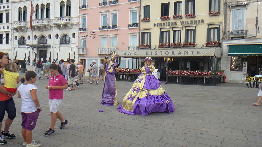 Карнавальные костюмы в Венеции