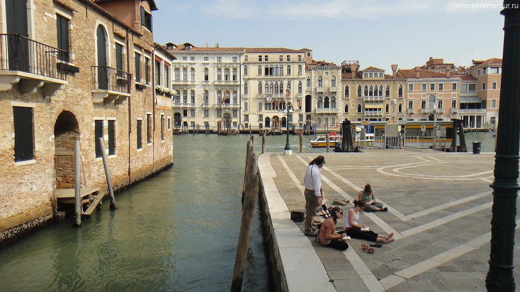 Художники в Венеции