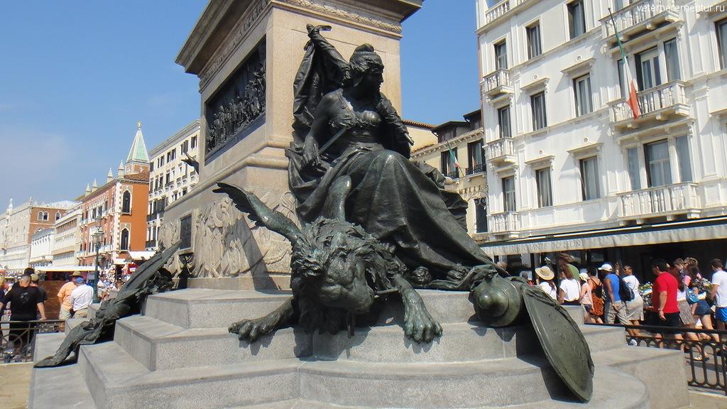 Венеция, скульптуры