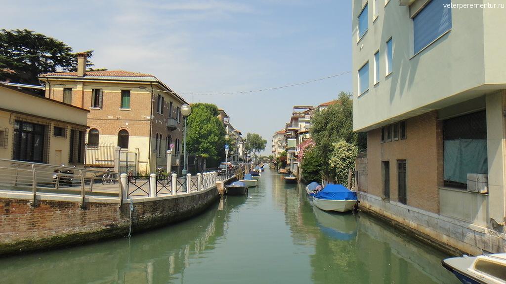 Каналы на Лидо, Венеция