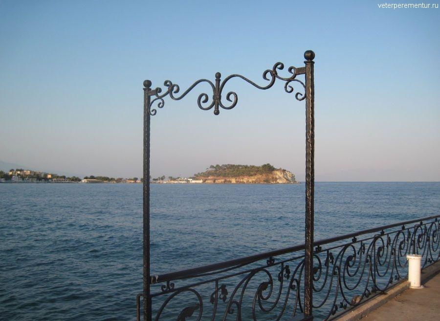 Вид на море, Кушадасы, Турция