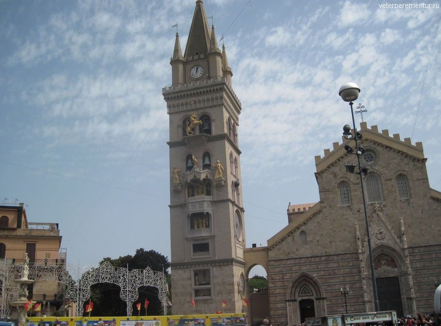 Колокольня в Мессине, Сицилия