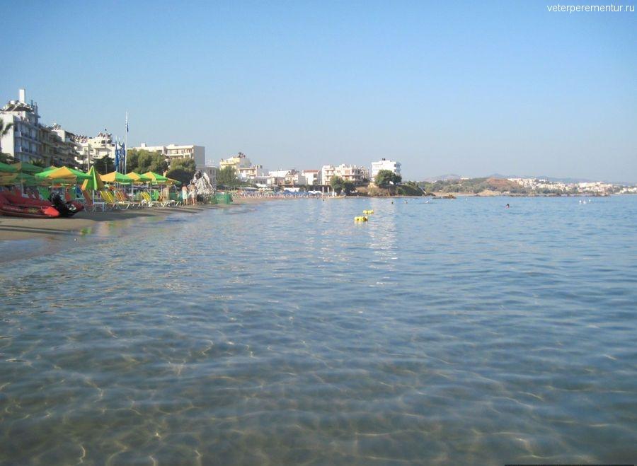 Пляж, Ханья, Крит