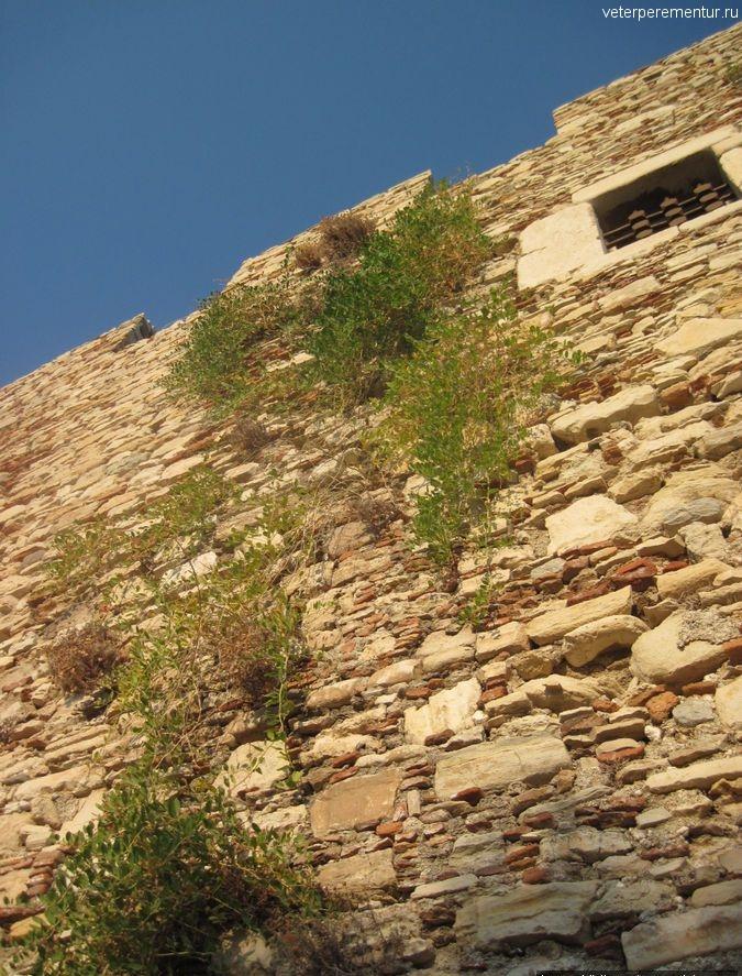 Крепость на Голубином острове, Кушадасы