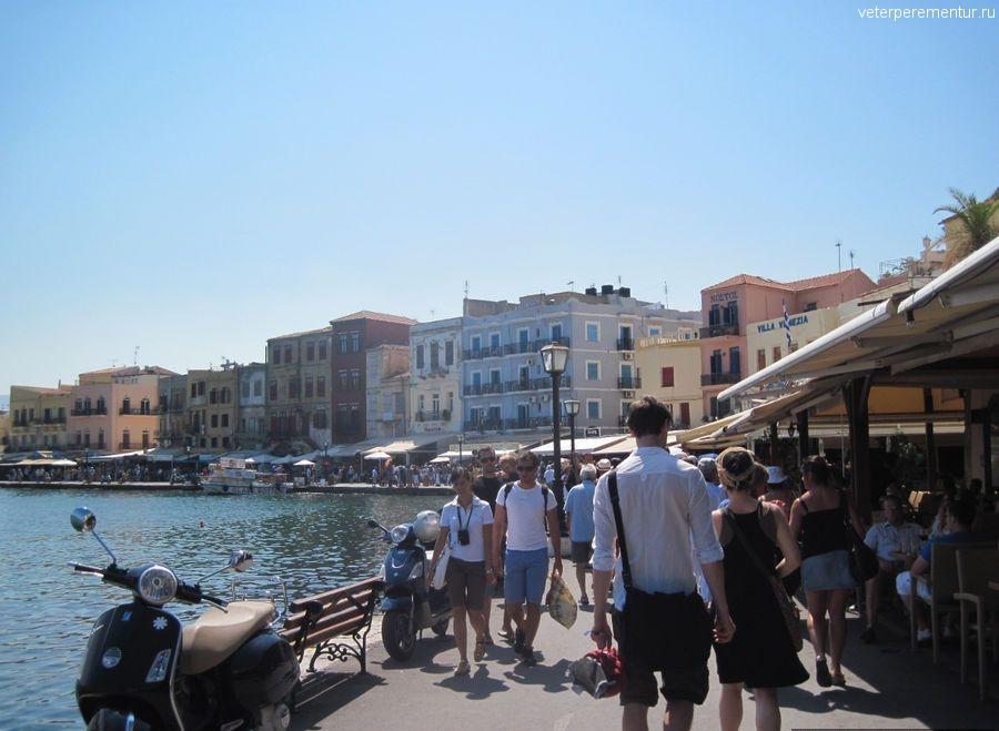 Ханья, Крит, набережная
