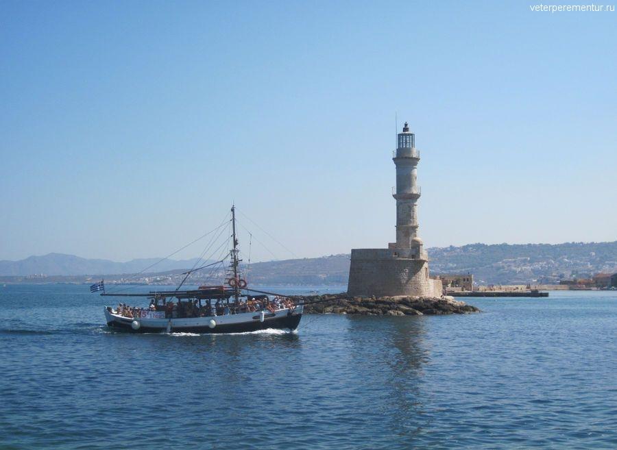 Ханья, Крит, прогулочный кораблик