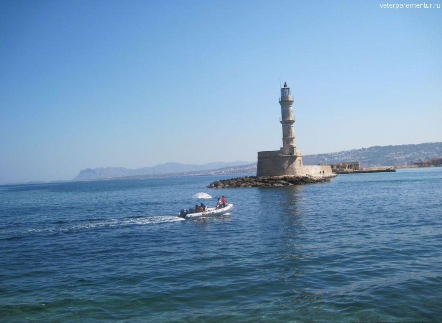 Ханья, Крит, прогулочная лодка