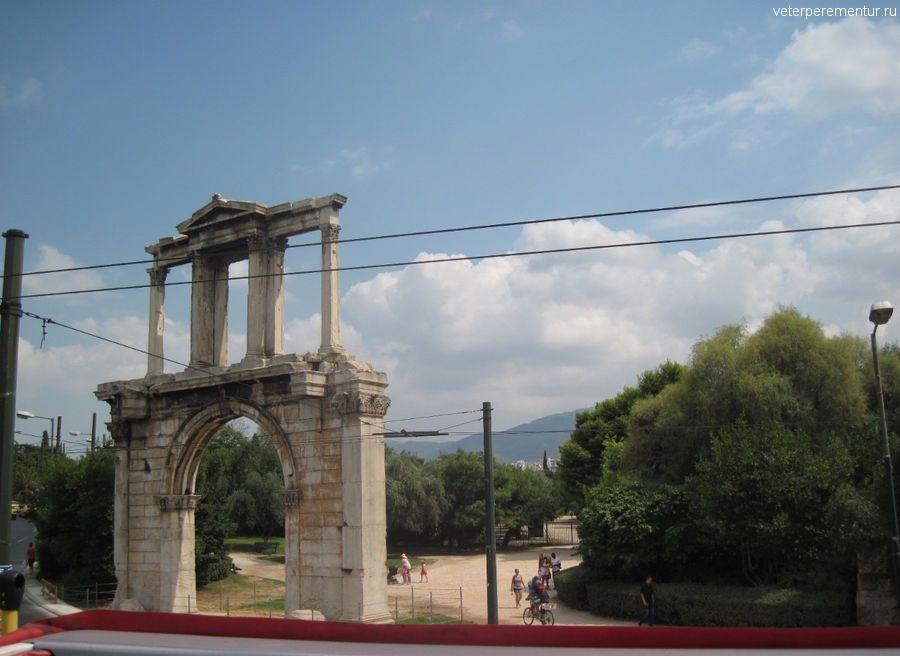 Арка Адриана, Афины, Греция