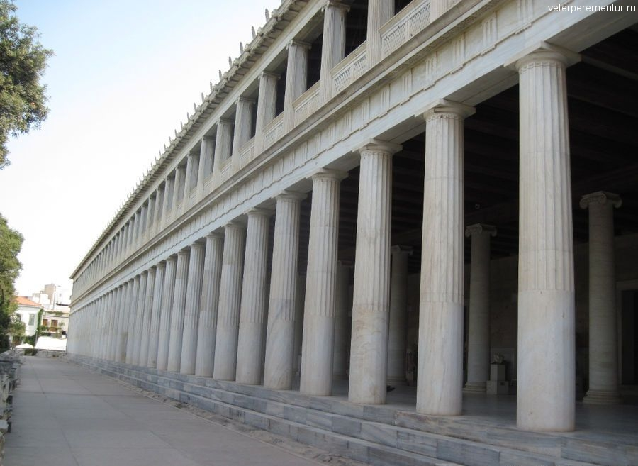 Агора, музей