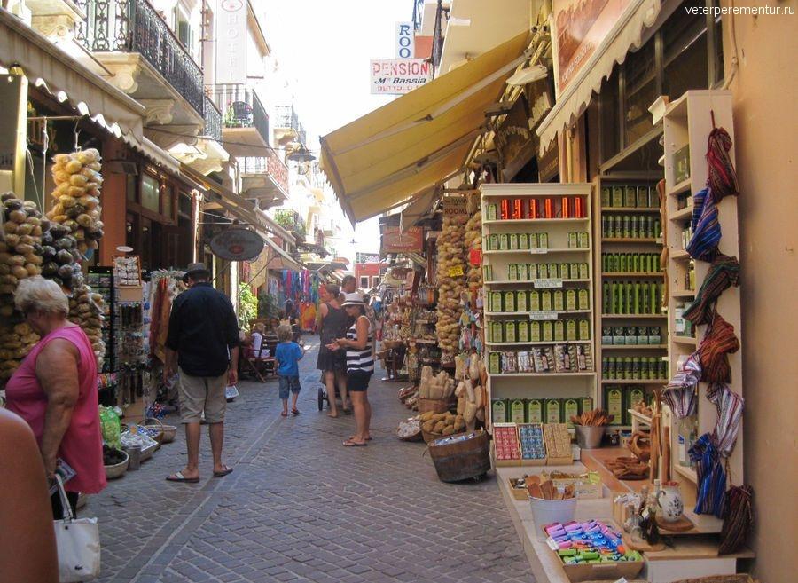 Торговые ряды, Ханья, Крит