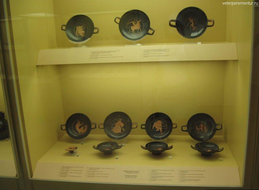 Музей Агоры, керамика