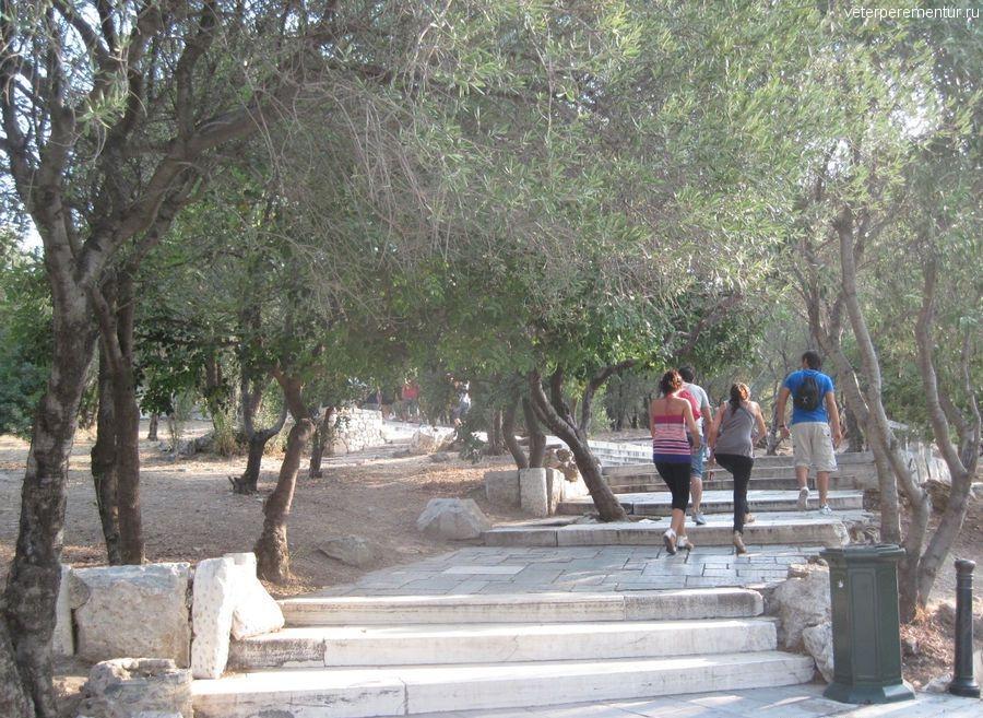Дорога к Акрополю, Афины