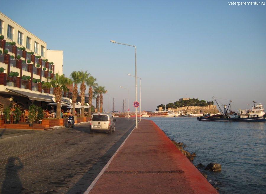 Дорога к Голубиному острову, Кушадасы, Турция