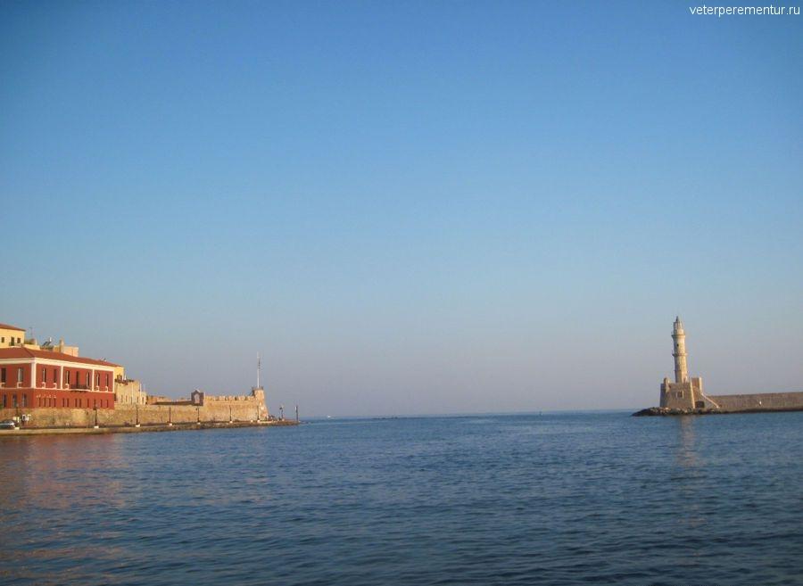 Ханья, Крит, маяк