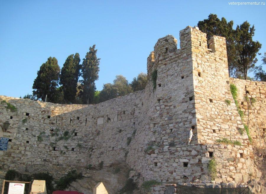 Крепость на Голубином острове, Кушадасы,Турция