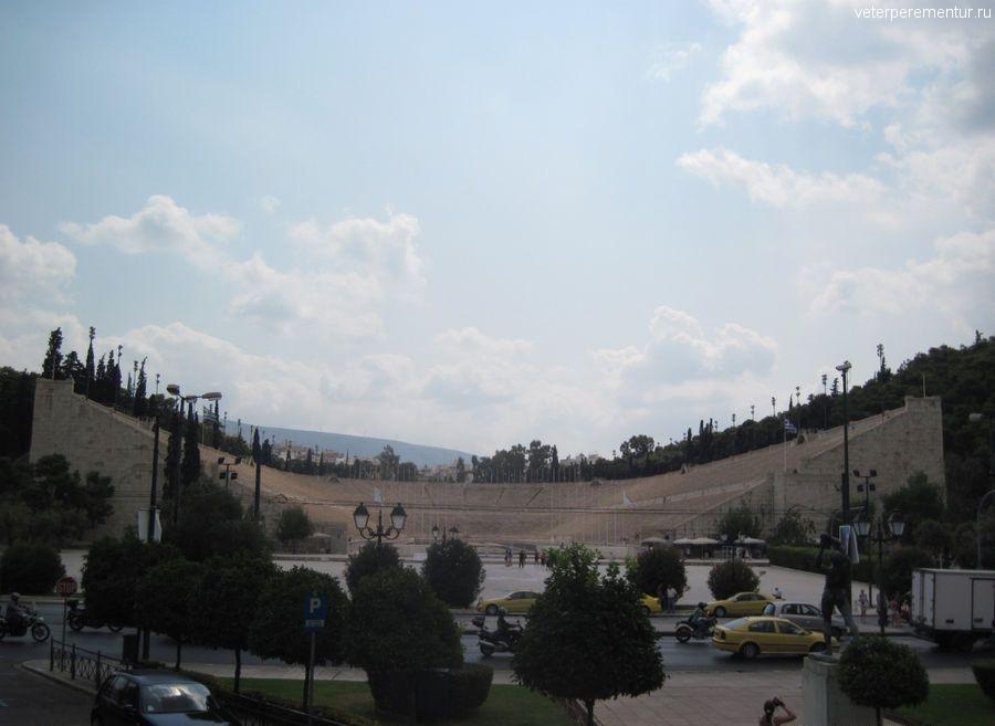 Древнейший Панафирейский стадион (еще одно название - Каллимармаро)