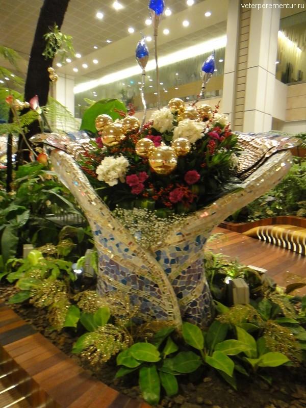 Enchanted Garden, аэропорт Чанги, Сингапур