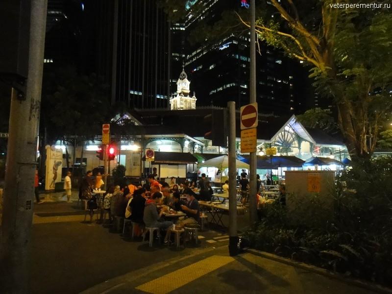 Рестораны на улице, Сингапур