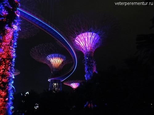 Сингапур, сады у залива