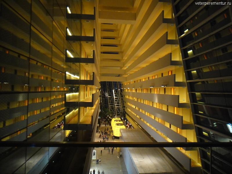 Торговый комплекс Marina Bay Sands, Сингапур