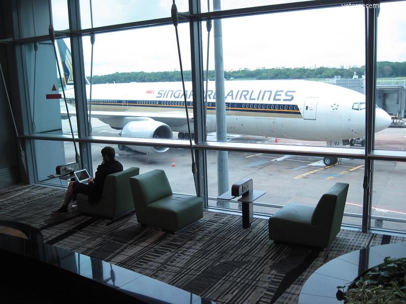 Аэропорт Чанги, Сингапур