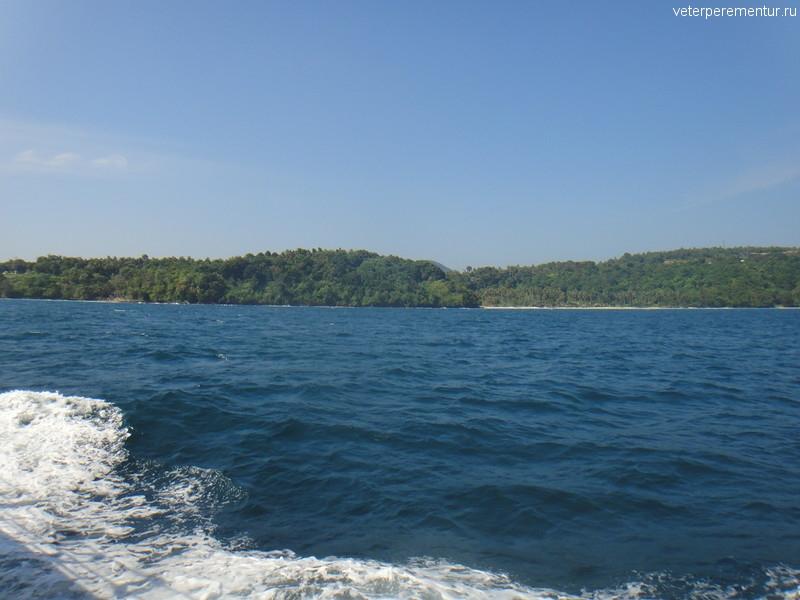 Провинция Краби, виды с моря