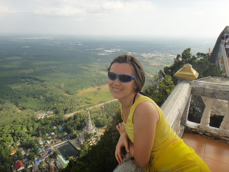 На вершине горы, Таиланд, Краби