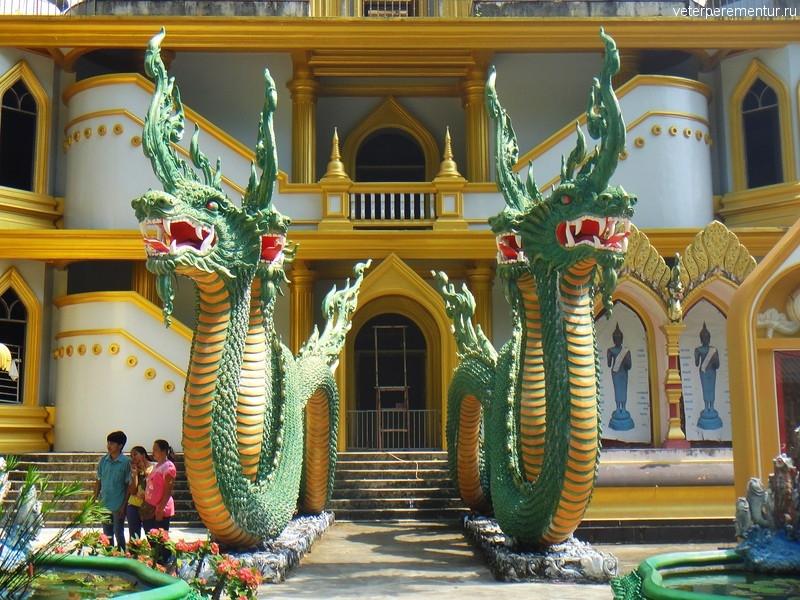 "«Пещера Тигра» (Tiger Cave Temple) или ""Храм Тигра"" (Wat Tham Suea), Таиланд, Краби"