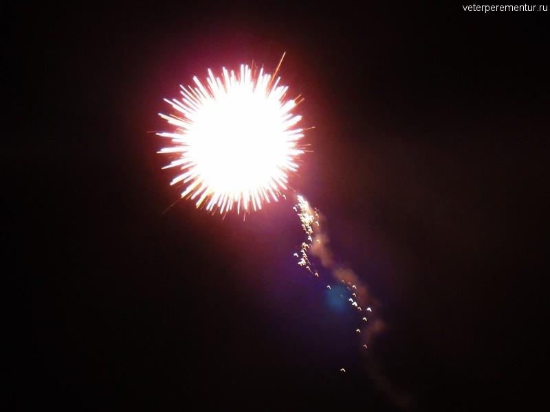Новогодний фейерверк, Ао Нанг, Краби