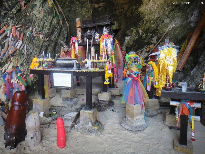 Пещера Phra Nang, Рейли, Таиланд