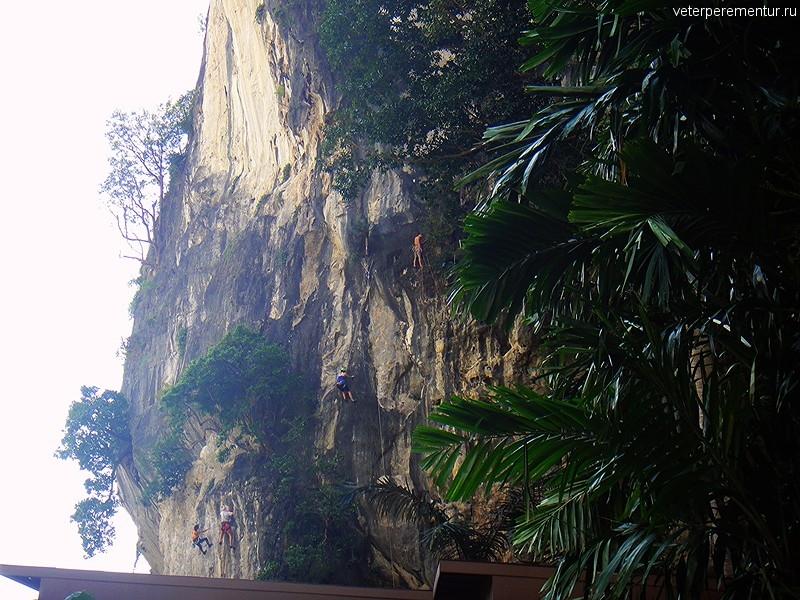 Скалолазы на Рейли, Таиланд