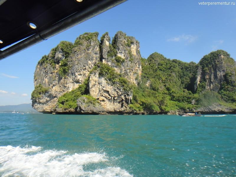 Провинция Краби, Таиланд, виды с воды