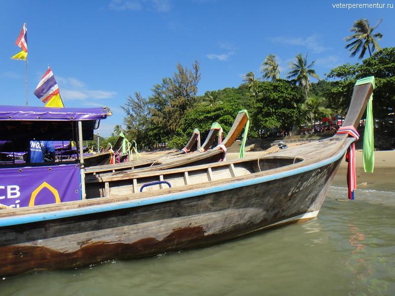 Лодки, Ао Нанг, Таиланд