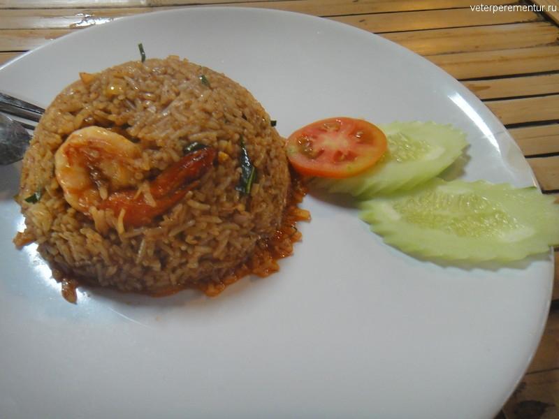 рис с креветками, Таиланд