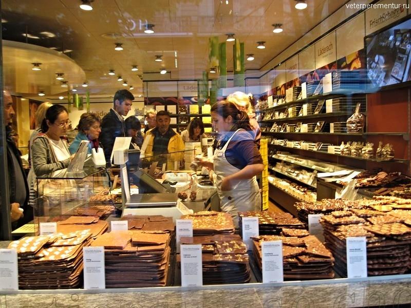 Швейцарский шоколад, Цюрих