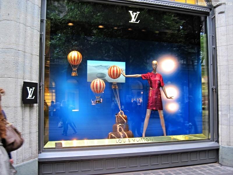 Магазины в Цюрихе, Швейцария