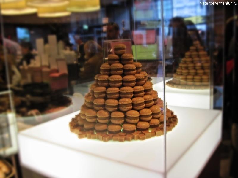 пирожное Luxemburgli, Цюрих