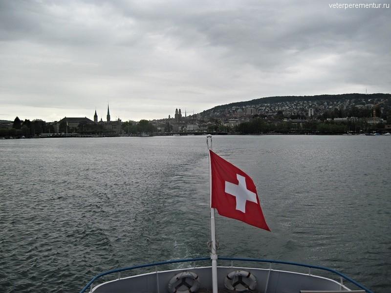 Круиз по Цюрихскому озеру, Швейцария